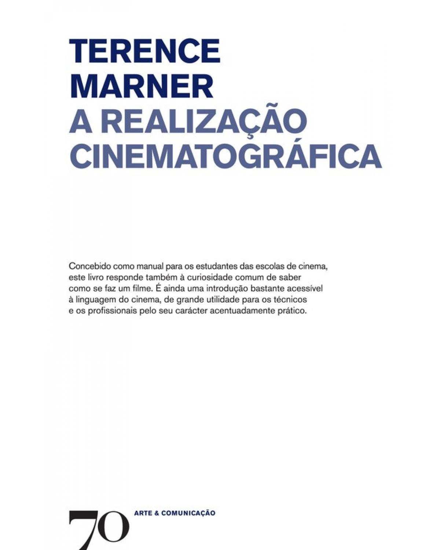 A realização cinematográfica - 1ª Edição | 2017