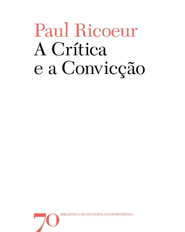 A Crítica e a Convicção | 2009