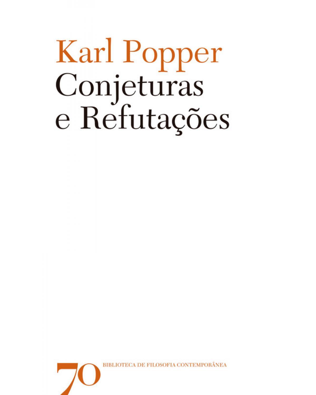 Conjeturas e Refutações - 1ª Edição | 2018