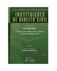 Instituições de Direito Civil - Volume 3 - 18ª Edição