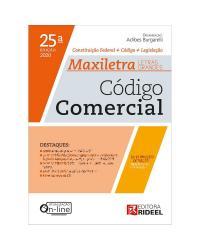 Código Comercial: Constituição + Código + Legislação - 25ª Edição   2020