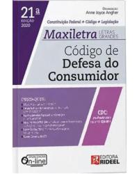 Código de Defesa do Consumidor: Constituição Federal + Código + Legislação