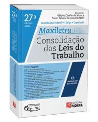 CONSOLIDAÇÃO DAS LEIS DO TRABALHO – MAXILETRA – 27ª Edição   2020