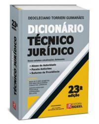 Dicionario Técnico Jurídico | 23ª Edição