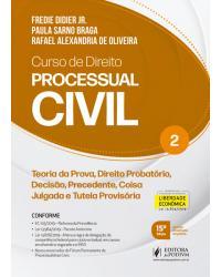 Curso de direito processual civil - Volume 2:  - 15ª Edição | 2020