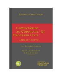 Comentários Ao Código De Processo Civil V. XI - Artigos 719 Ao 770 - 2ª Ed. 2018