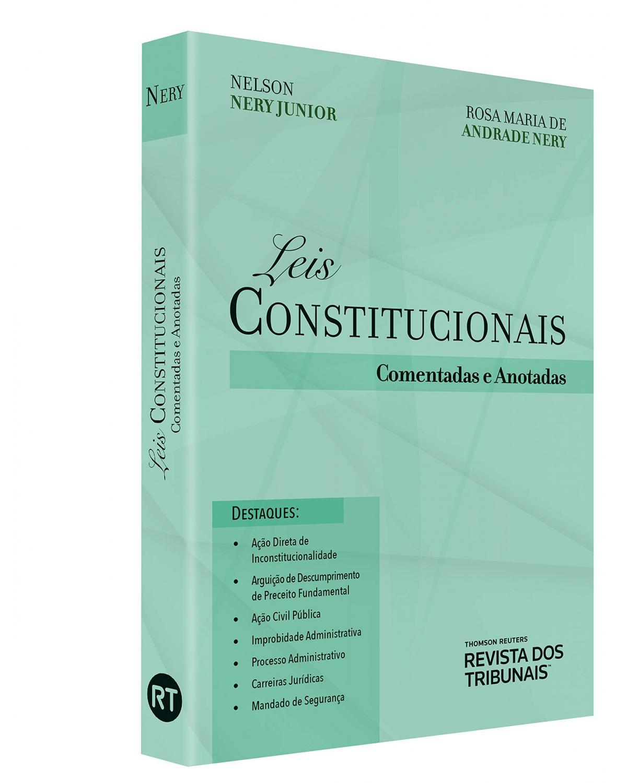 Leis Constitucionais Comentadas E Anotadas
