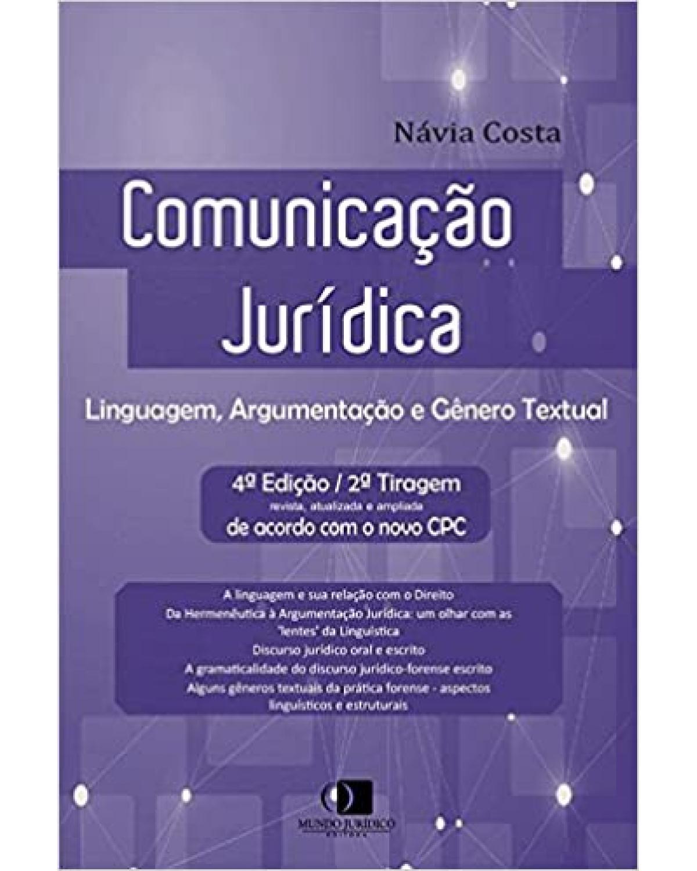 Comunicação Jurídica - Linguagem, argumentação e gênero textual - 4ª edição