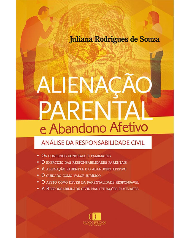 Alienação Parental e Abandono Afetivo - 1ª Edição