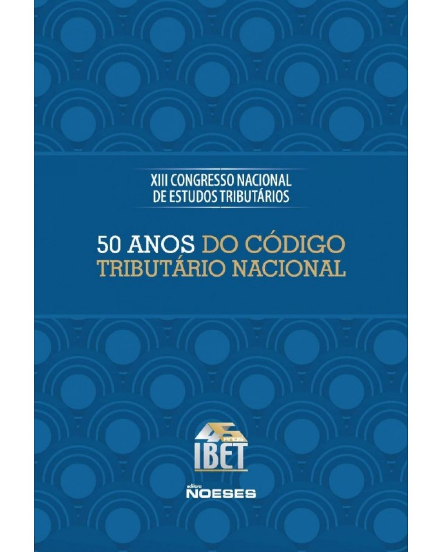 50 anos do Código Tributário Nacional