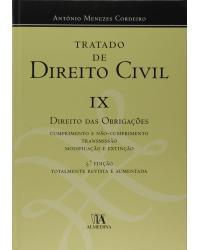 Tratado de direito civil - Volume 9: direito das obrigações - 3ª Edição   2017