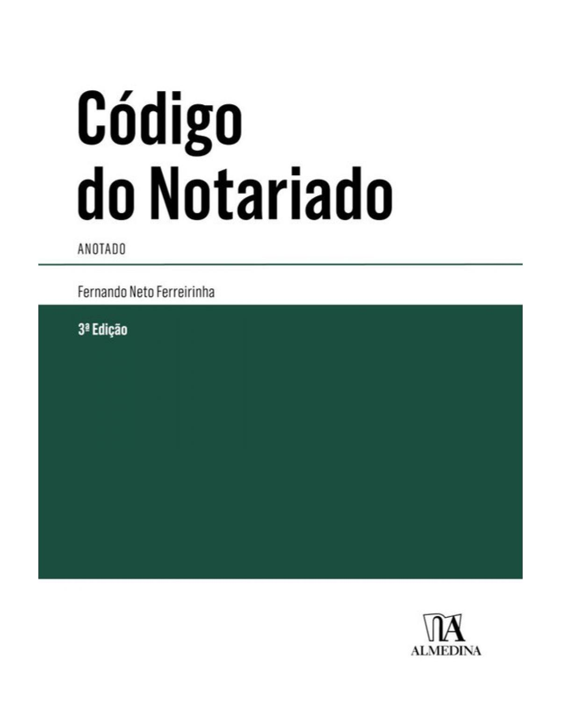 Código do Notariado: Anotado - 3ª Edição | 2018