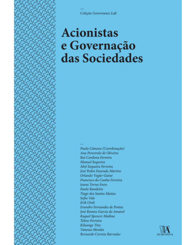 Acionistas e Governação das Sociedades - 1ª Edição | 2019