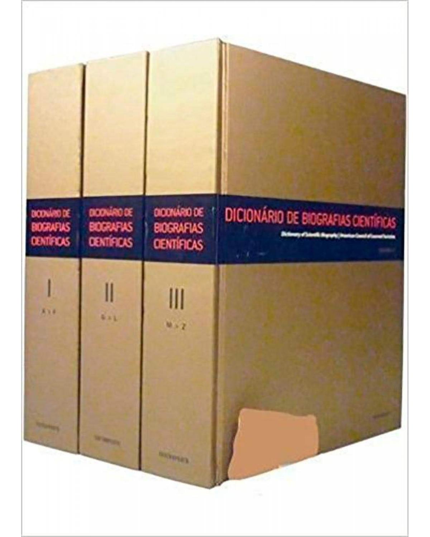Dicionário de Biografias Científicas - 3 Volumes