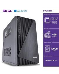 COMPUTADOR BUSINESS B300 - I3 4130 3.4GHZ 4GB DDR3 SSD 120GB HDMI/VGA FONTE 250W WINDOWS 10 PRO