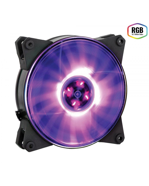 FAN PARA GABINETE MASTERFAN PRO 120MM AIR PRESSURE RGB - MFY-P2DN-15NPC-R1