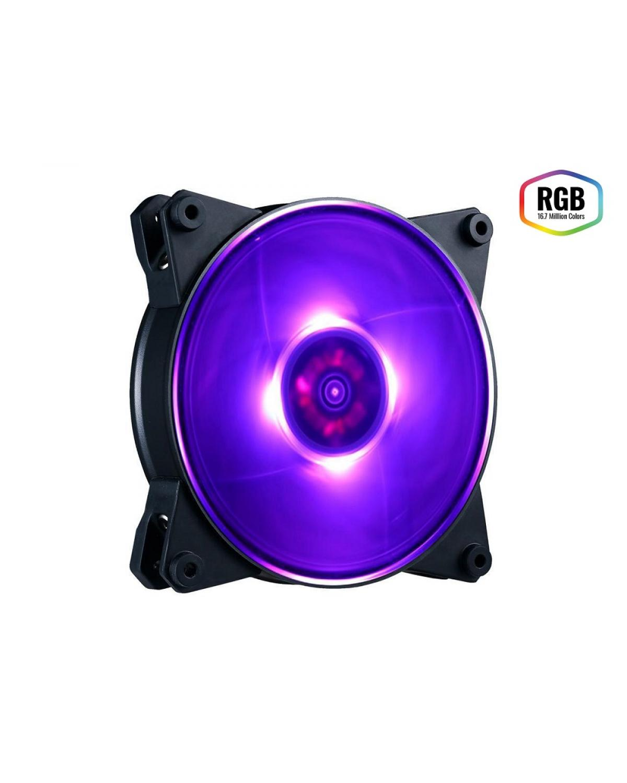 FAN PARA GABINETE MASTERFAN PRO 140MM AIR PRESSURE RGB - MFY-P4DN-15NPC-R1