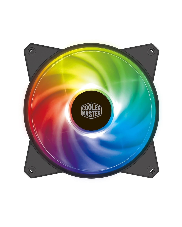 FAN PARA GABINETE MASTERFAN MF120R ARGB - 120MM - R4-120R-20PC-R1