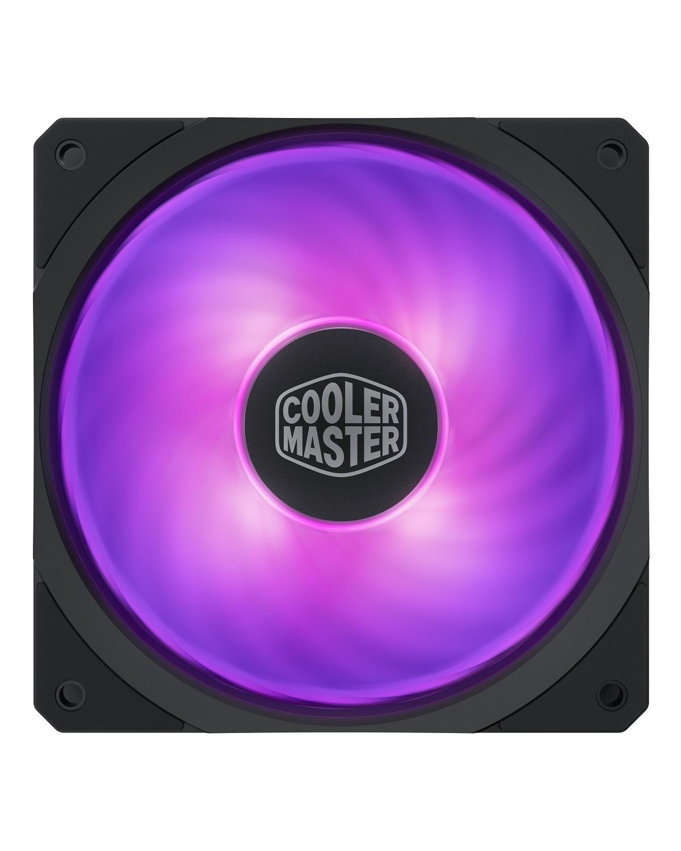 FAN PARA GABINETE MASTERFAN SF120R RGB - 120MM - MFX-B2DN-20NPC-R1