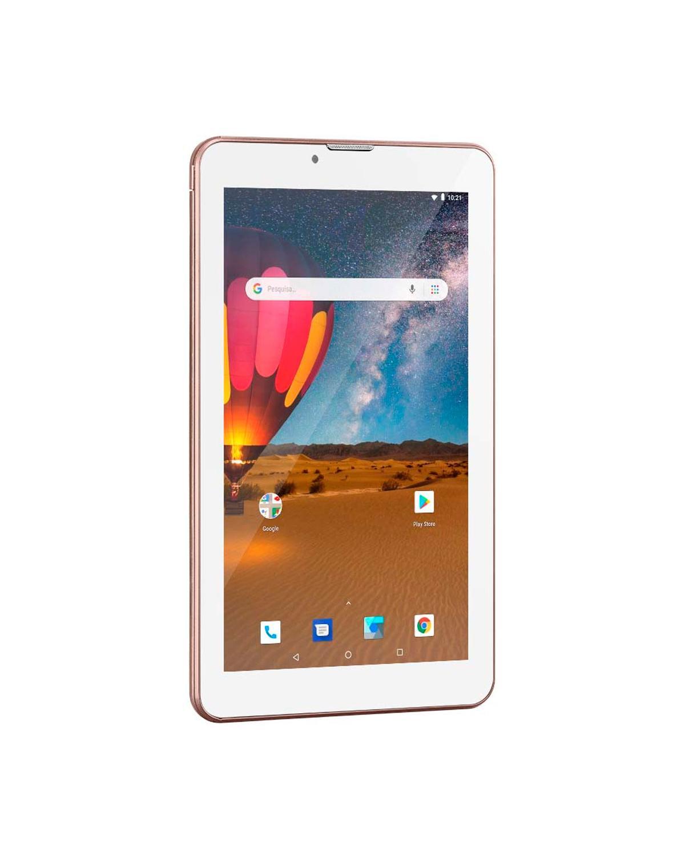 TABLET M7 3G PLUS DUAL CHIP QUAD CORE 1 GB DE RAM MEMÓRIA 16 GB TELA 7 POLEGADAS NB305 ROSA
