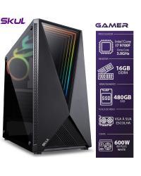 COMPUTADOR GAMER 7000 - I7 9700F 3.0GHZ 9ª GER. SEM VIDEO INTEGRADO MEM. 16GB DDR4 SSD 480GB FONTE 600W
