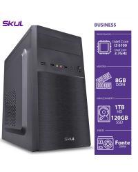 COMPUTADOR BUSINESS B300 - I3 6100 3.7GHZ 8GB DDR4 HD 1TB SSD 120GB HDMI/VGA FONTE 250W