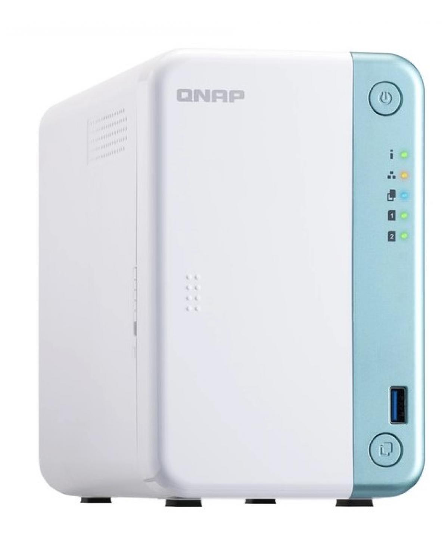 SERVIDOR DE DADOS NAS INTEL DUAL-CORE 2.0GHZ - 2GB - 2 BAIAS SEM DISCO - TS-251D-2G-US