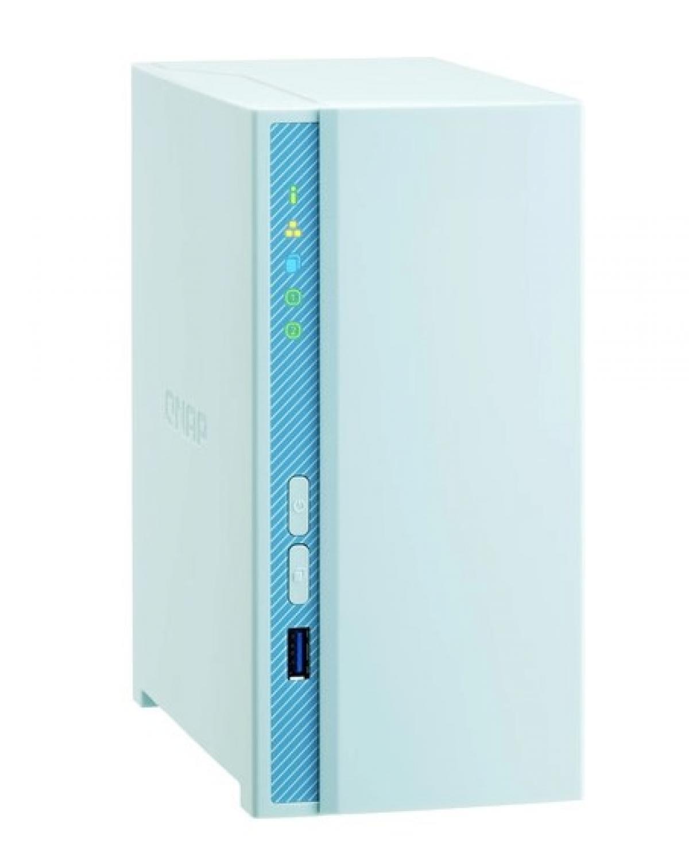 SERVIDOR DE DADOS NAS ARM QUAD-CORE 1.4GHZ - 1GB - 2 BAIAS SEM DISCO - TS-230-US