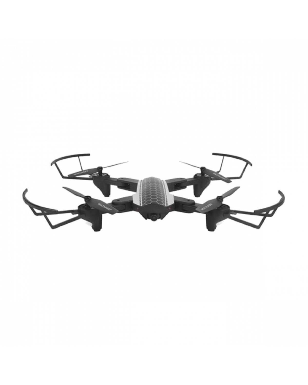 Drone Wifi Shark Com Câmera HD Com Controle Remoto Alcance de 80m FPV Preto Multilaser - ES177