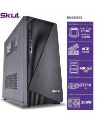 COMPUTADOR BUSINESS B500 - I5 7400 3.0GHZ 4GER MEM 8GB DDR4 SSD 480GB GT710 2GB FONTE 500W