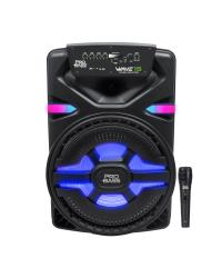 CAIXA AMPLIFICADA BLUETOOTH/SD/USB ILUMINACAO DE LED 15'' 700W WAVE15