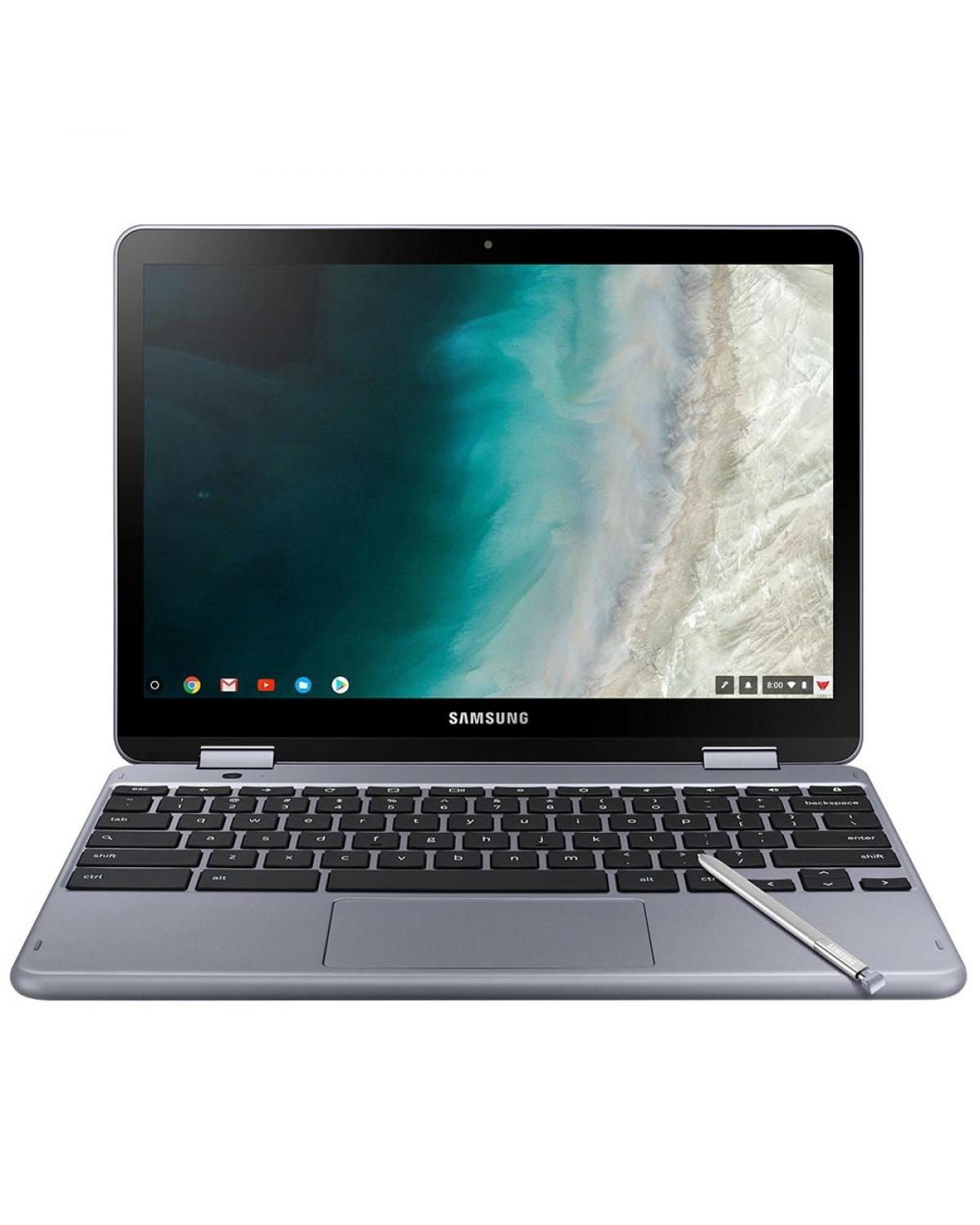Notebook Samsung Chromebook SS Plus 12.2 Intel 4GB 32GB Touch XE521QAB-AD1BR