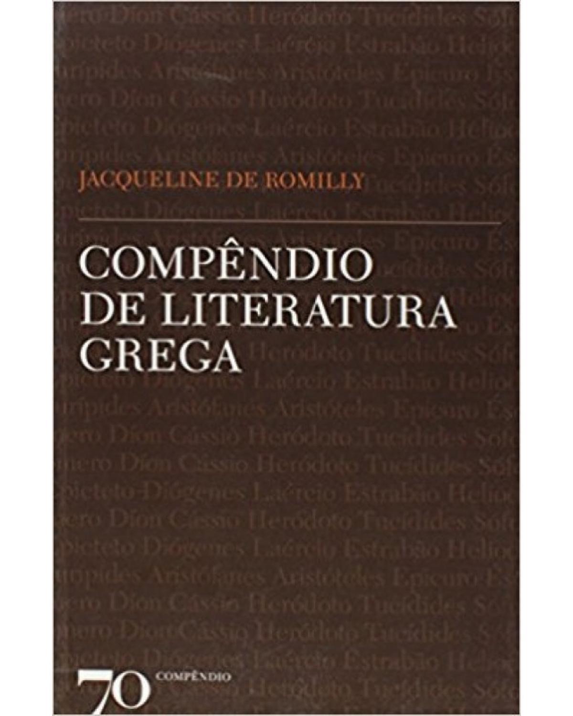 Compêndio de Literatura Grega - 1ª Edição | 2011