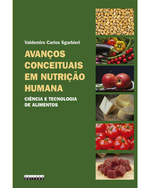 Avanços conceituais em nutrição humana - Ciência e tecnologia de alimentos | 2020