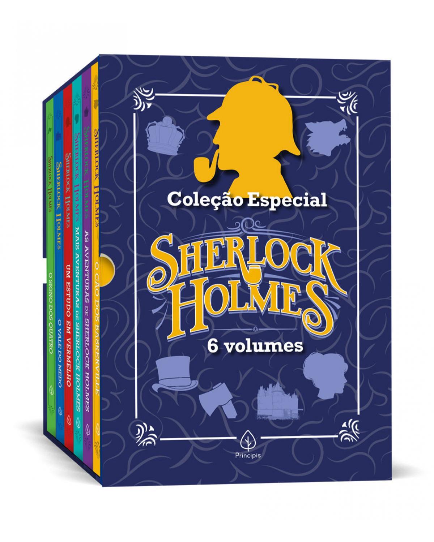 Coleção Especial Sherlock Holmes - Box com 6 livros - 1ª Edição | 2021