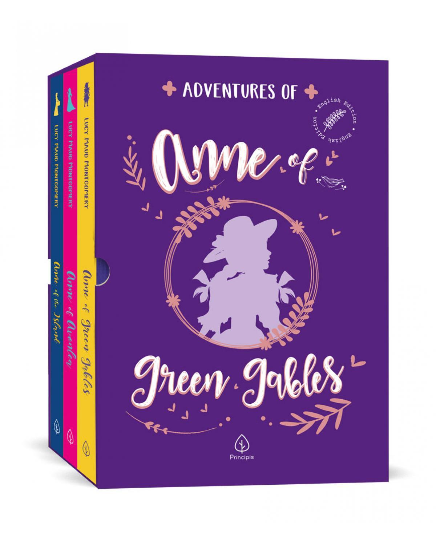 Adventures of Anne of Green Gables - Box com 3 livros - 1ª Edição | 2021