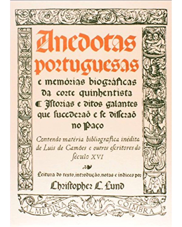 Anedotas portuguesas - 1ª Edição | 1980