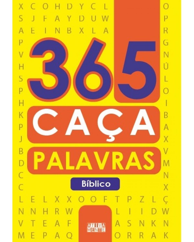 365 caça-palavras - Bíblico - 1ª Edição | 2021