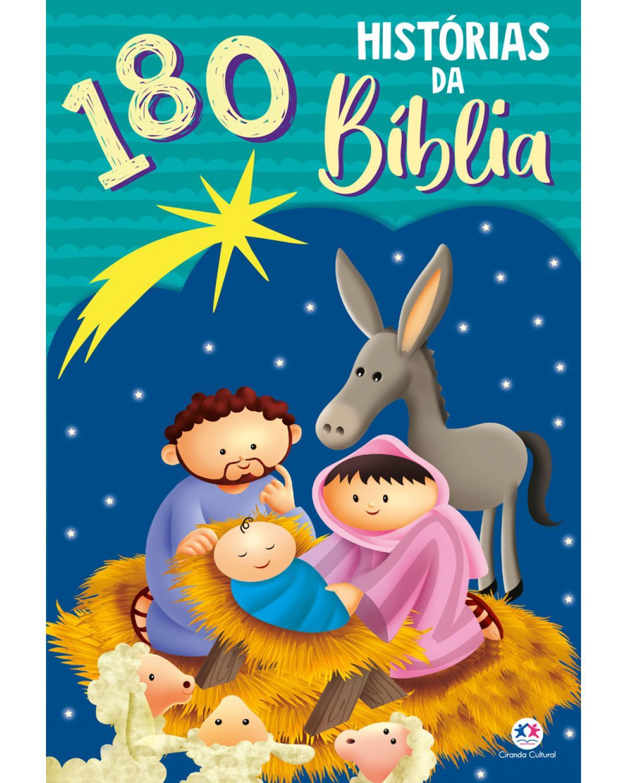 180 histórias da Bíblia - 1ª Edição | 2021