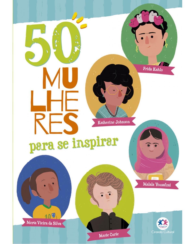 50 mulheres para se inspirar - 1ª Edição   2021