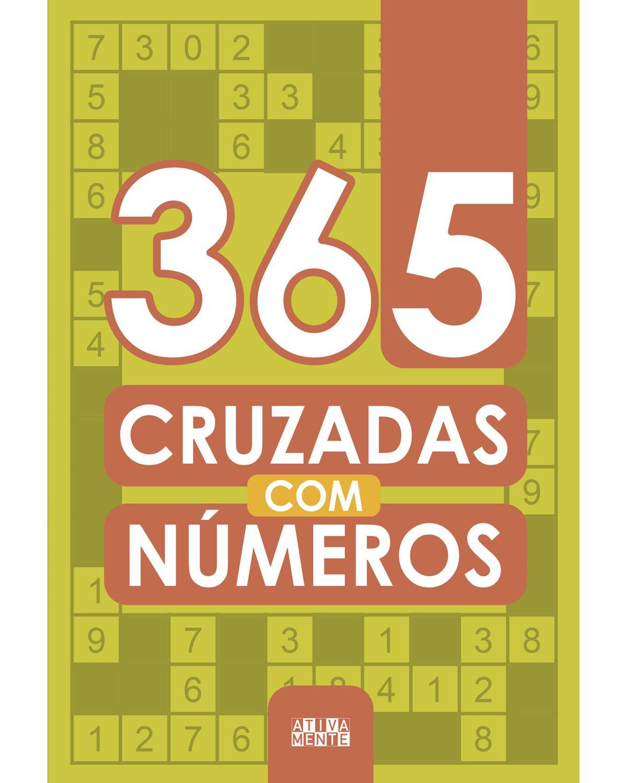 365 cruzadas com números - 1ª Edição | 2021