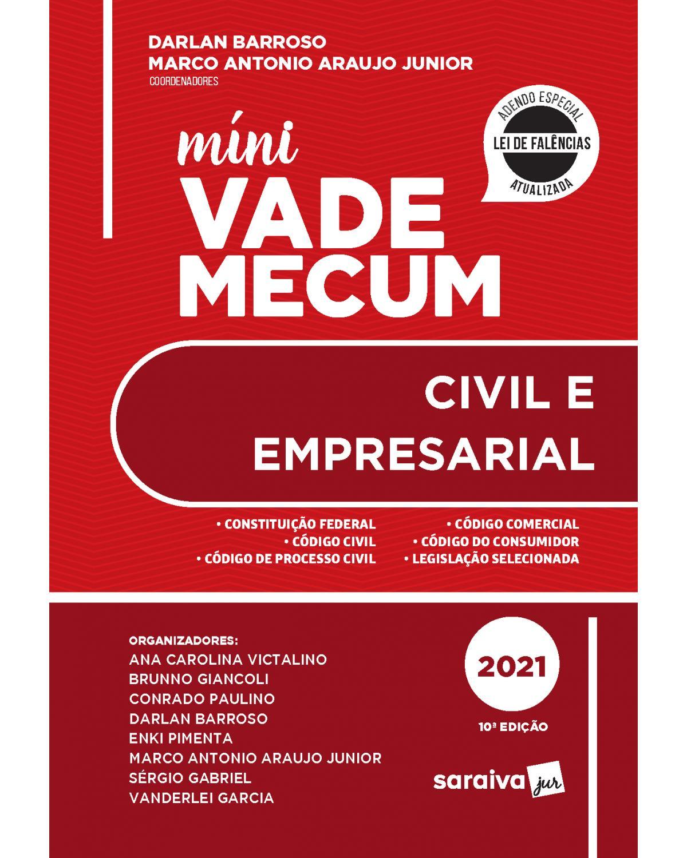 Míni vade mecum civile empresarial - 10ª Edição   2021
