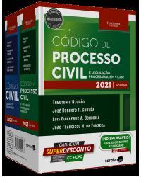 Kit Código civil e código processo civil - 13ª Edição   2021