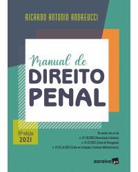 Manual de direito penal - 15ª Edição | 2021