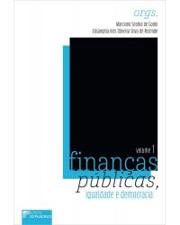 Finanças públicas, igualdade e democracia - Volume 1:  - 1ª Edição   2021