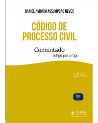 Código de processo civil comentado - 6ª Edição | 2021