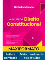 Manual de direito constitucional - 9ª Edição | 2021