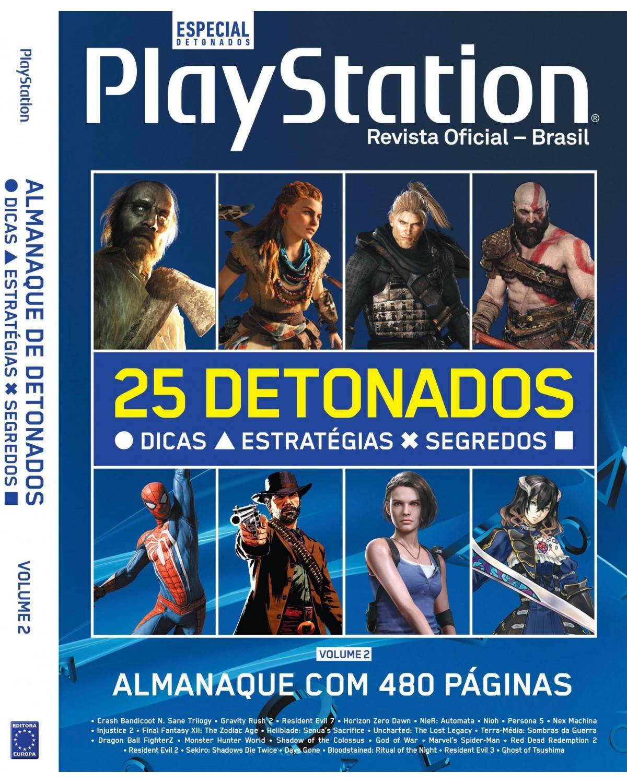Almanaque PlayStation de Detonados - Volume 2 - 1ª Edição | 2021