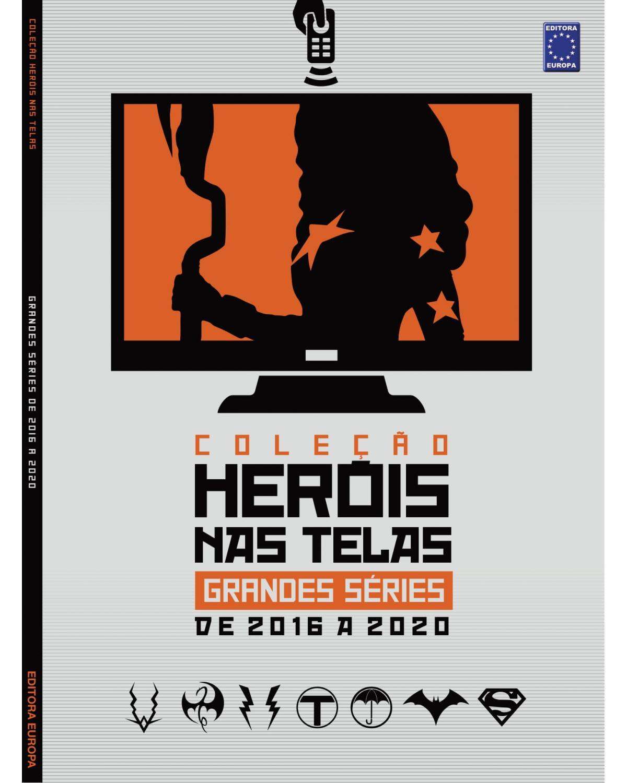 Coleção heróis nas telas: Grandes séries de 2016 a 2020 - 1ª Edição | 2021