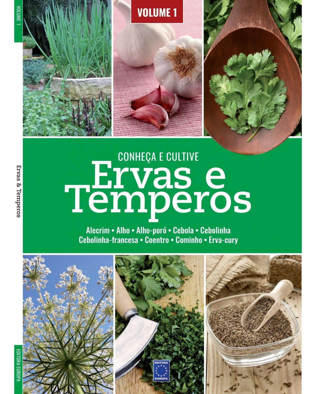 Ervas e temperos: Conheça e cultive - Volume 1 - 1ª Edição | 2021